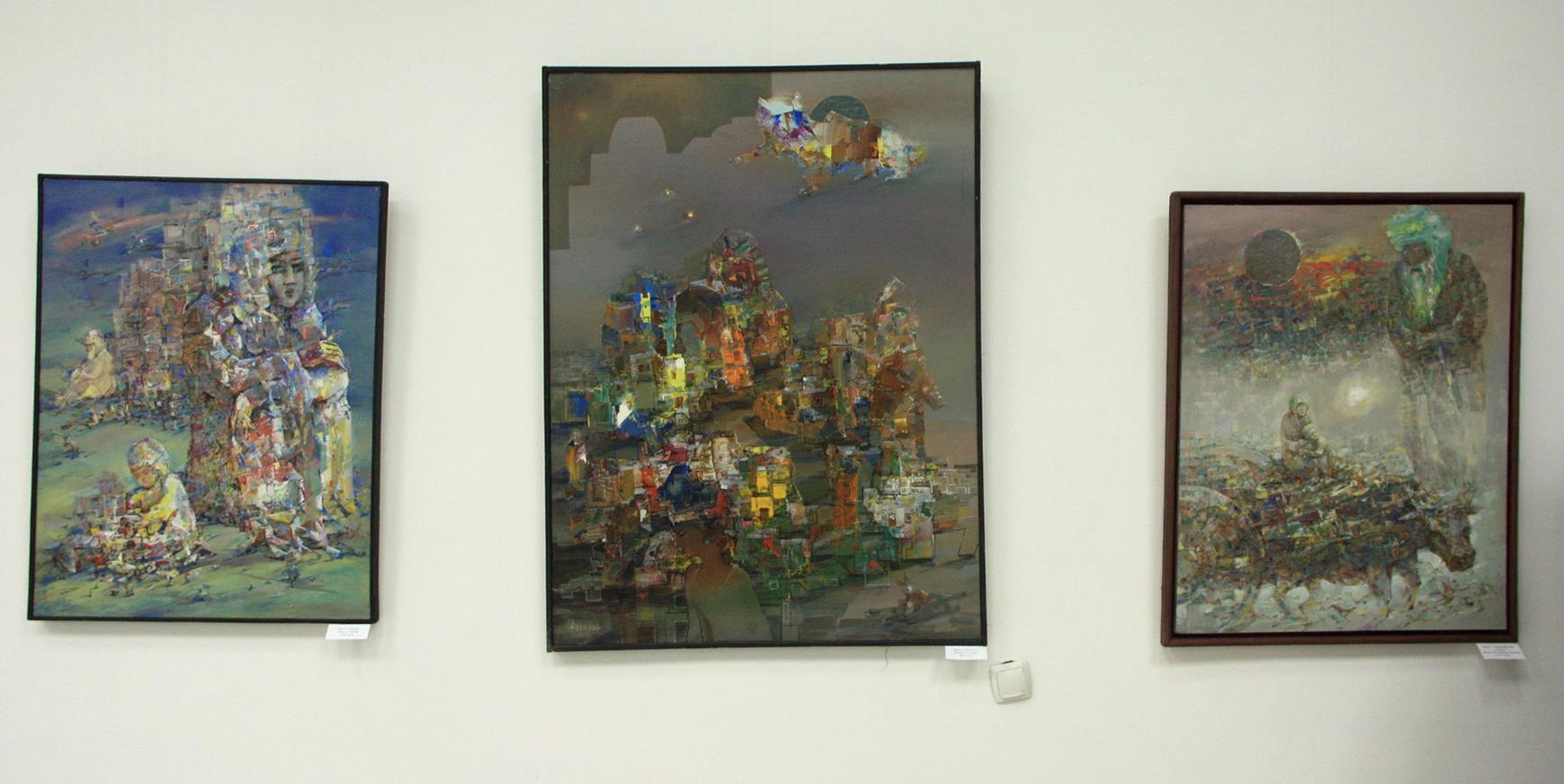 Аслиддин Исаев. Экспозиция картин.