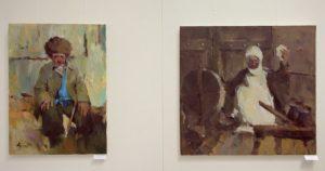 Атахон Аллаберганов. Экспозиция портретов. 2 (Из собр. Б. Рутамова)