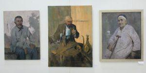 Атахон Аллаберганов. Экспозиция портретов. (Из собр. Б. Рутамова)