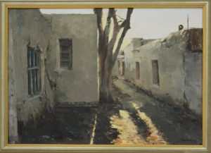 Атахон Аллаберганов. Улица. 2006 (Из собр. Рутамова)