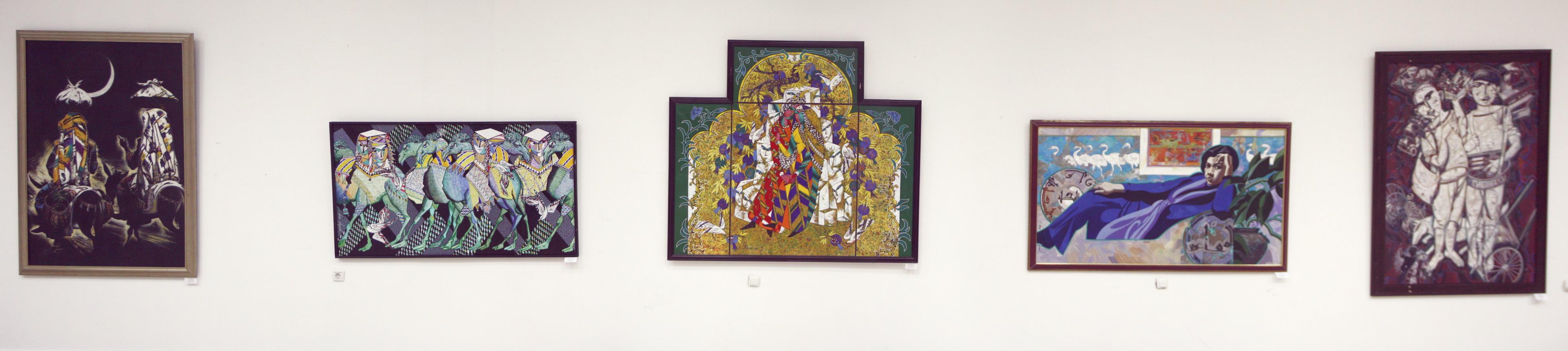 Джавлон Умарбеков. Экспозиция картин.