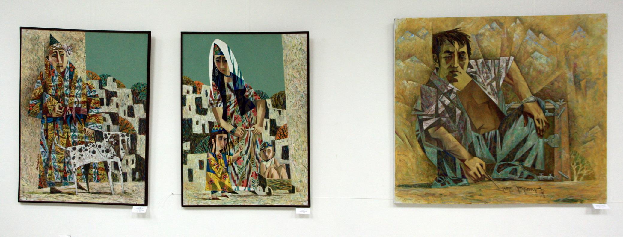 Хуршид Зияханов. Экспозиция картин