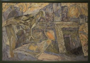 Лев Снегирёв. Замерзающие птицы. 1979 Маргилан. (ДХВ)