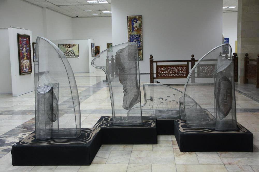 Марина Бородина. Скульптурная композиция