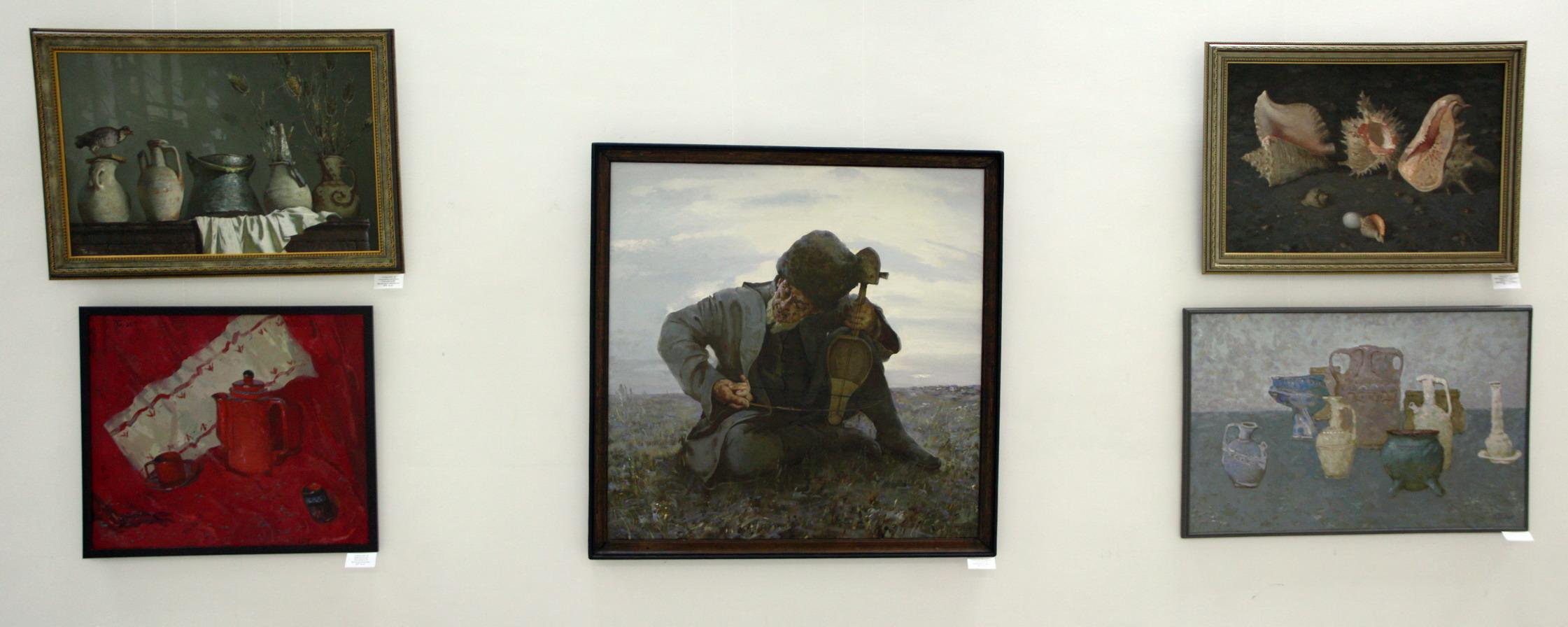 Мухаммаджон Ташмурадов. Экспозиция картин.
