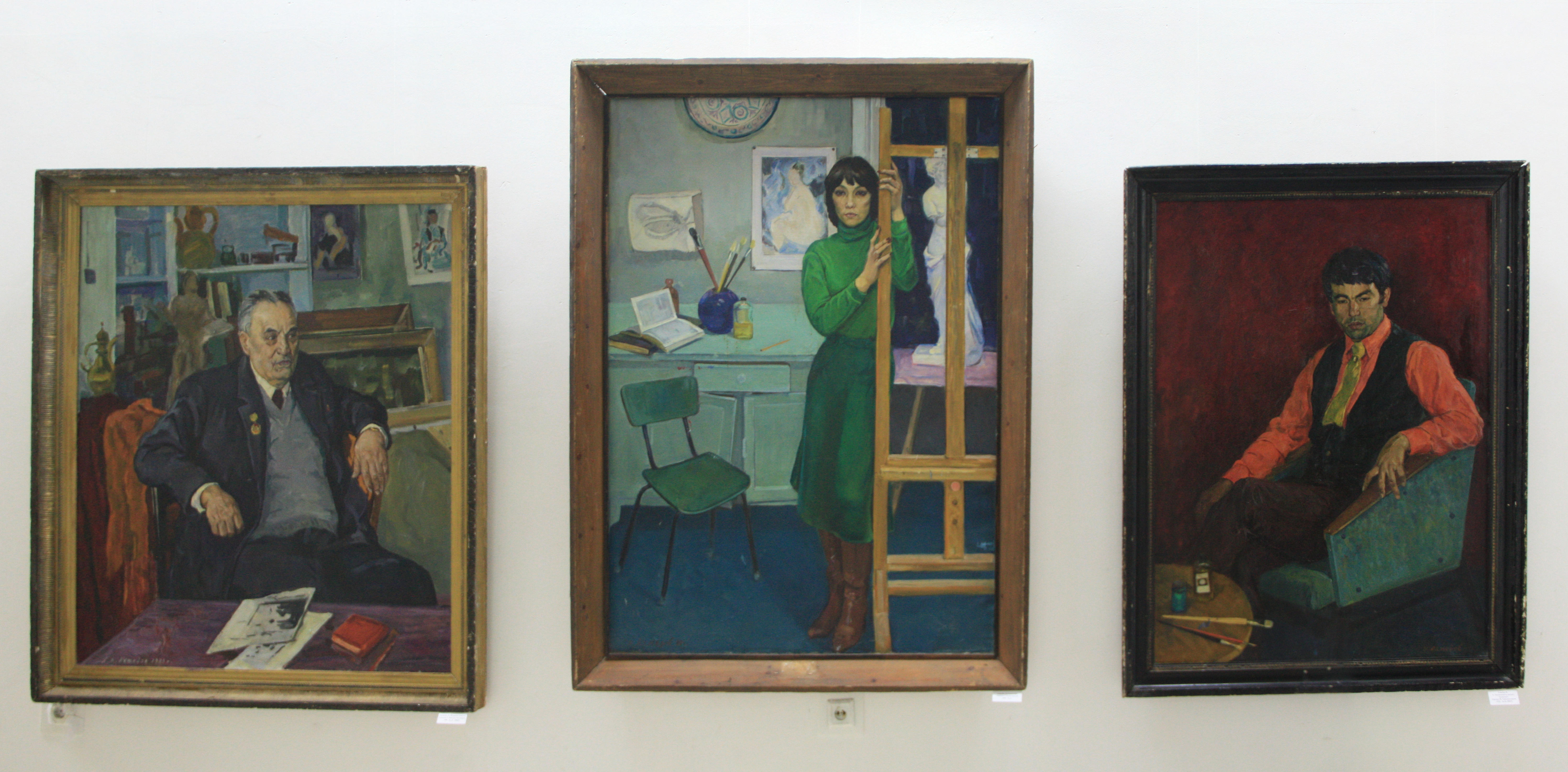 Рахим Ахмедов. Экспозиция картин.