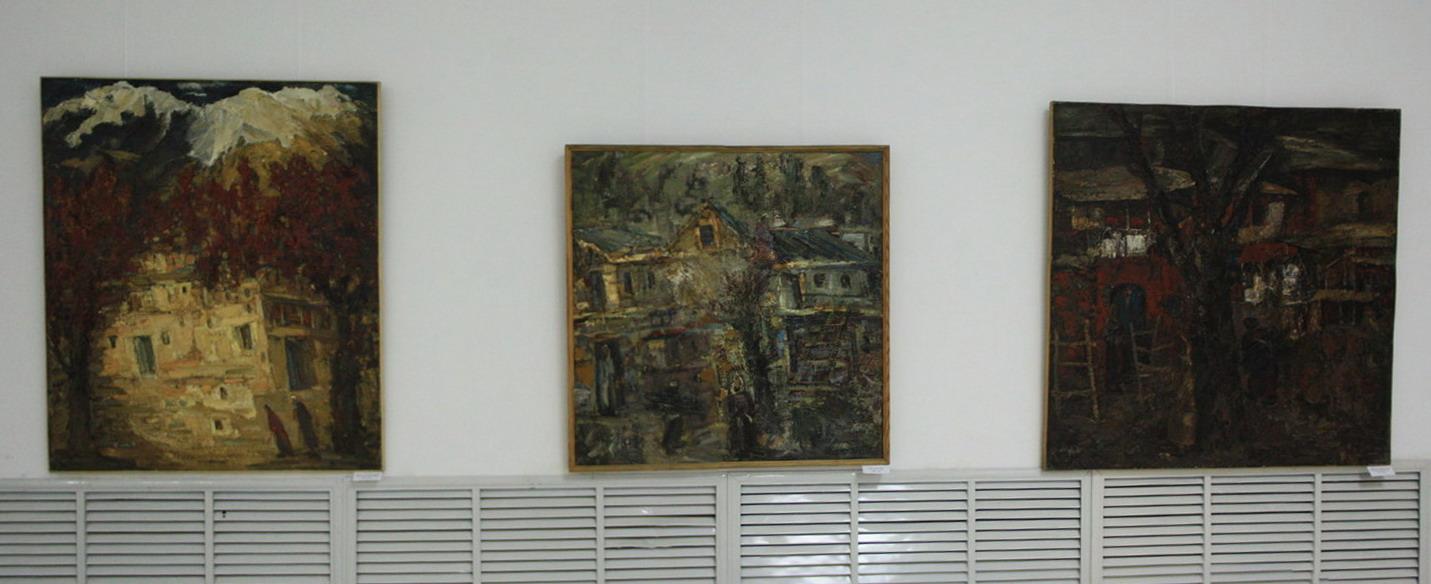 Римма Гаглоева. Экспозиция картин.