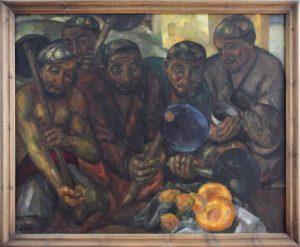 Волков А.Н. Дехкане на отдыхе. 1930 (ГМИ Уз)