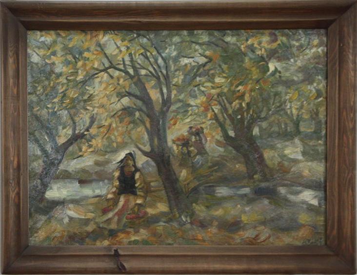 Волков А.Н. Осень. 1956. (ГМИ Уз)