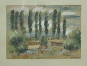 Волков А.Н. Пейзаж 2. 1930 (ГМИ Уз)