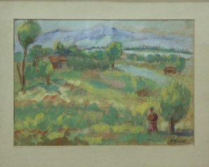 Волков А.Н. Пейзаж.3. 1930 (ГМИ Уз)