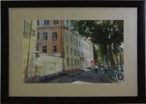 Е. Панов. Ташкентская улица. 2016