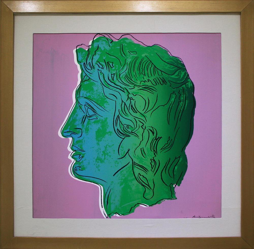 Энди Уорхол (Andy Warhol). Александр. (репродукция).