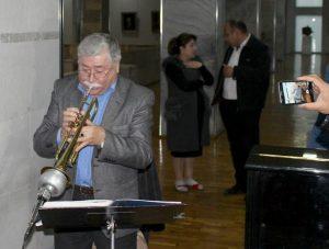 Джазовый трубач Александр Хабирханов