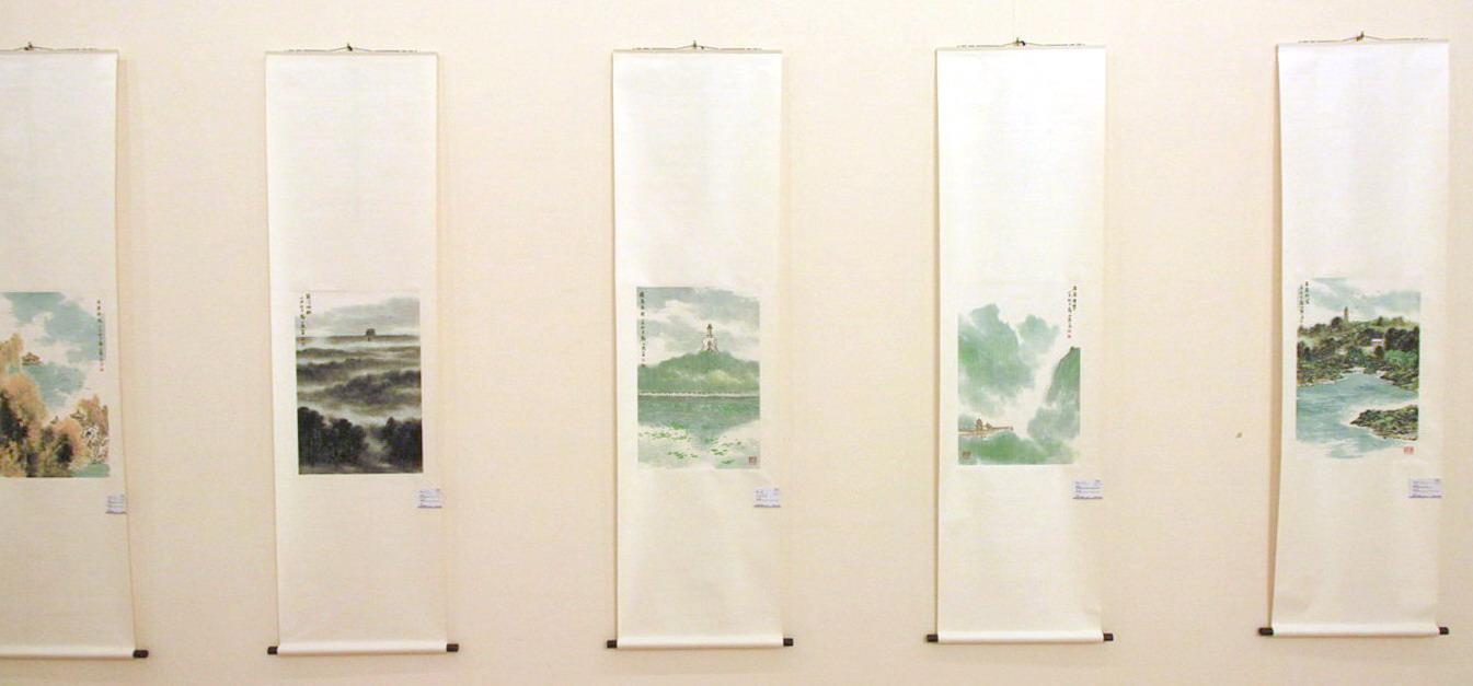 Чжэн Шаньлу. Монохромные пейзажи.