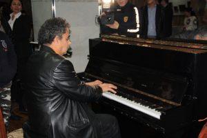 Исполнение музыкальных композиций Мухаммада Атаджанова