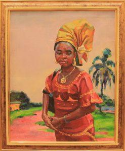 Р.Шодиев. Африка. Мадам Конте. 2014