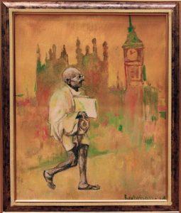 Рахмон Шодиев. Ганди. 2016