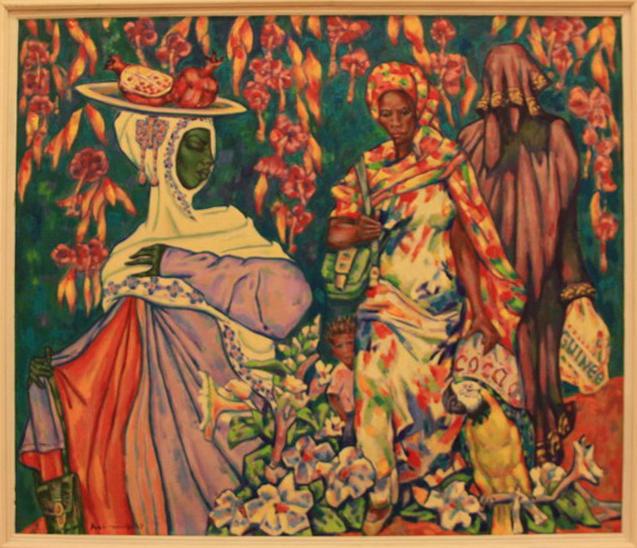 Рахмон Шодиев. Гвинея.Женщины Африки. 2017