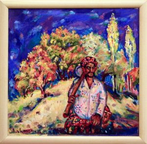 Рахмон Шодиев. Осень. Кумушкан. 2015