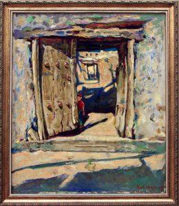 Рахмон Шодиев. Ворота. 1995