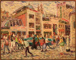 Рустам Базаров. Площадь Таксим. 2017