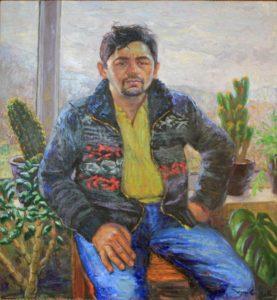 Рустам Базаров. Портрет Художника. 2016