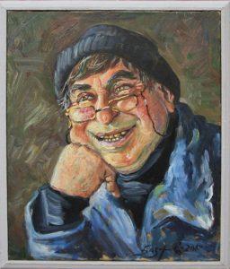 Рустам Базаров. Портрет сторожа. 2012