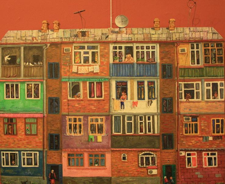 Рустам Базаров. Жилой дом на массиве Чиланзар. 2011