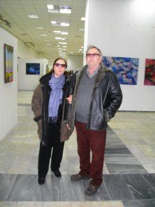 Александр Панамарёв с супругой
