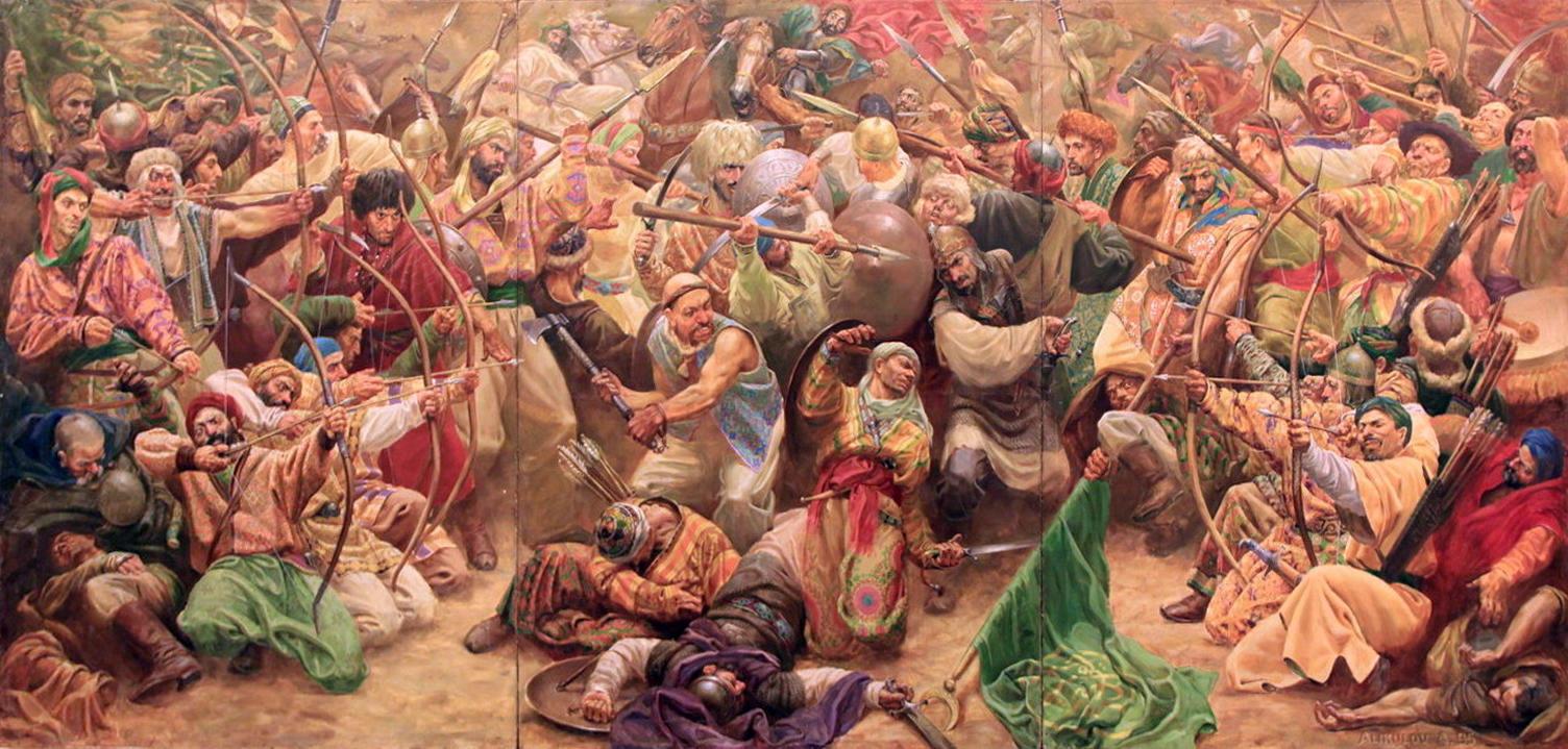 Алишер Аликулов. Междоусобные феодальные войны или разрушение империи. 1995