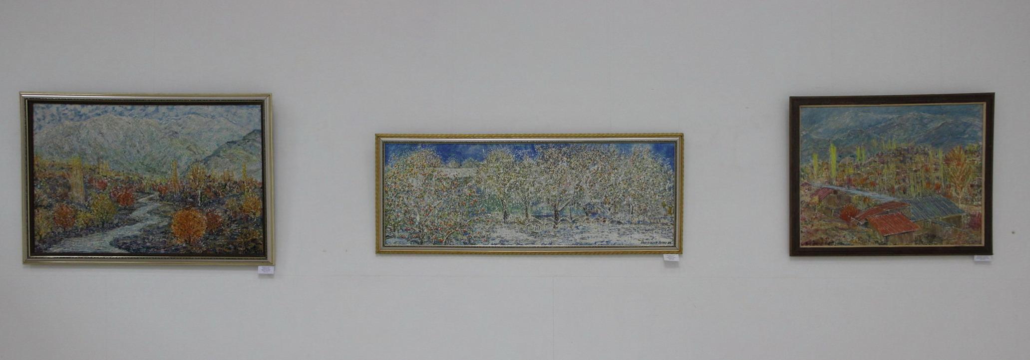 Мирсагатов Анвар. Экспозиция работ. 2017 г.