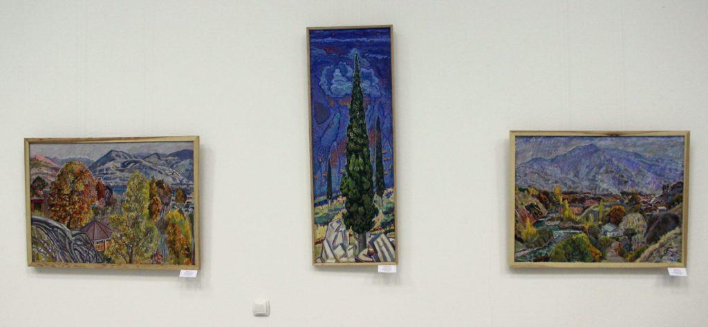 Салпинкиди Я. Экспозиция картин. 2017