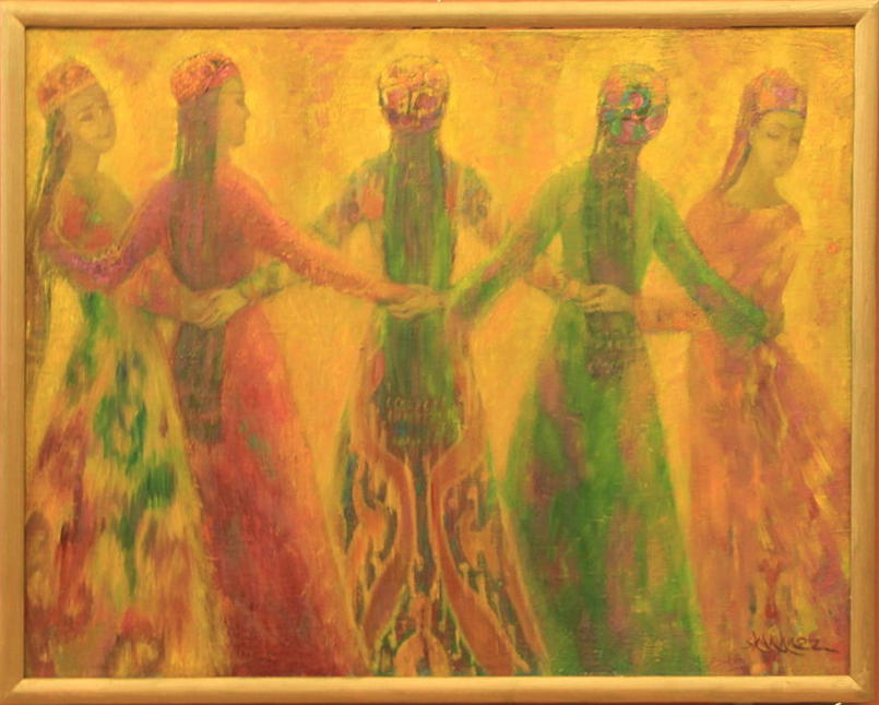 Шахноз Абдуллаева. «Хоровод. Радение с огнём».