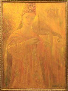 Шахноз Абдуллаева. «Мистерии с огнём».
