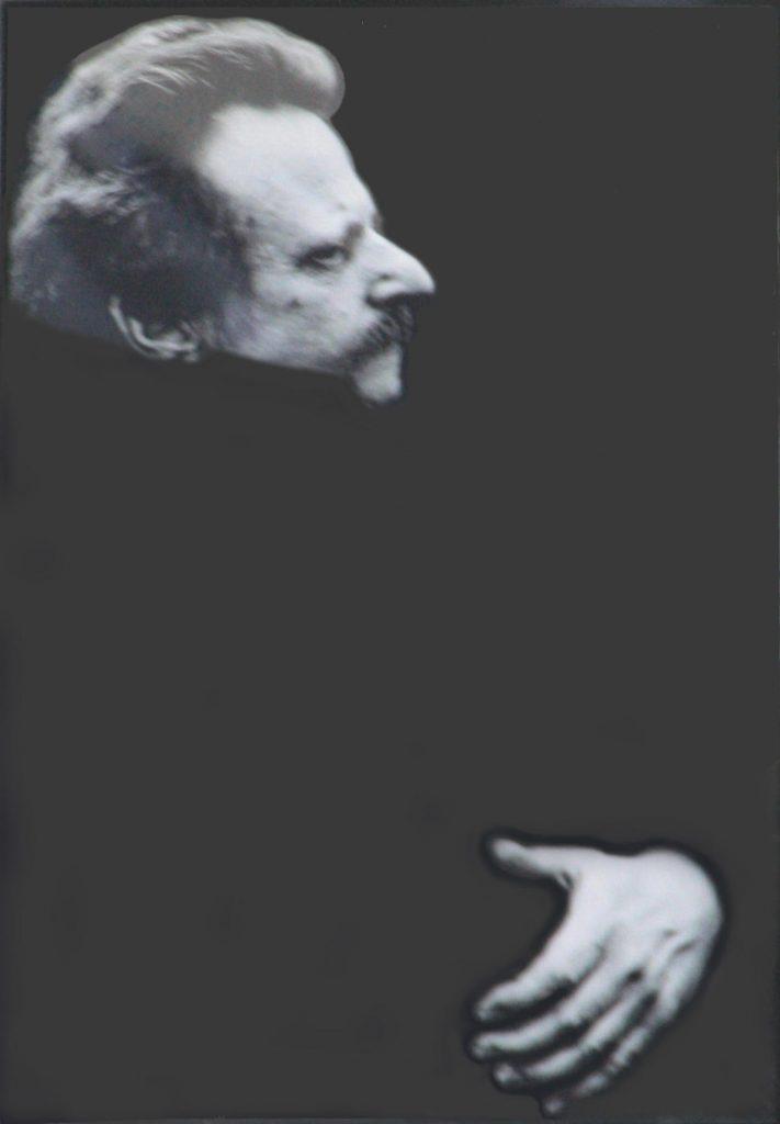 В. Шлосберг. Портрет художника Енина. (ФШ версия У.Курбанова)