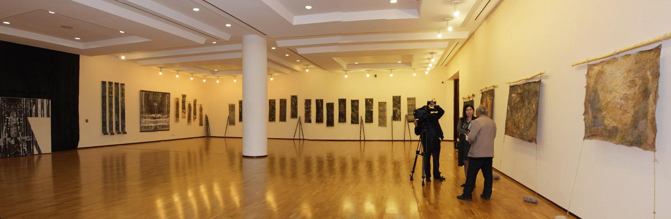 Экспозиционный зал выставки.