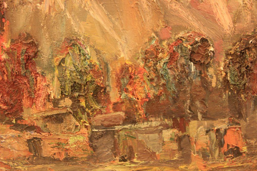 Гаглоева Римма. Айгаинг. 1992. фрагмент.