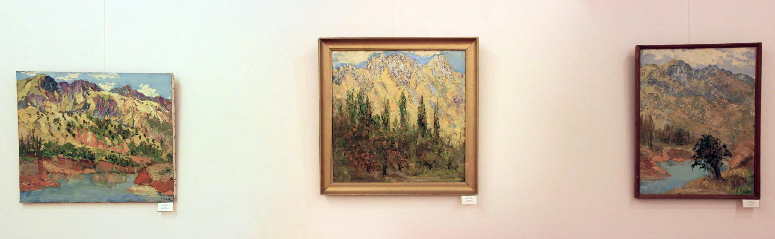Гаглоева Римма. Экспозиция картин (5)