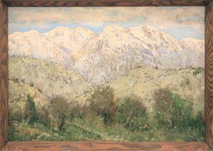 Гаглоева Римма. Весна в горах. 1999
