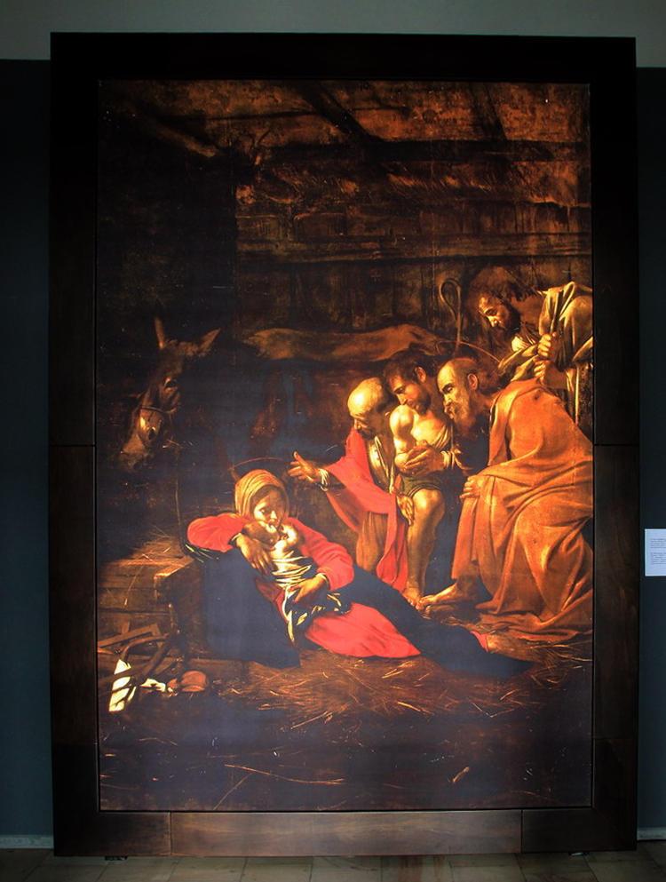 Поклонение пастухов. х.м. 314х211. 1608-09 гг.