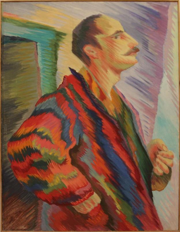 Зелимхан Саиджанов. Автопортрет в халате. 1980