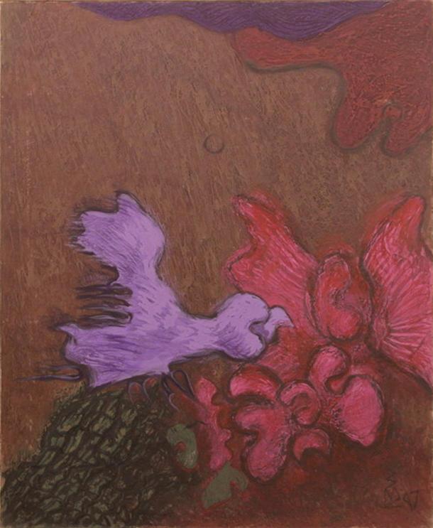 Зелимхан Саиджанов. Из птичьей серией. 1997