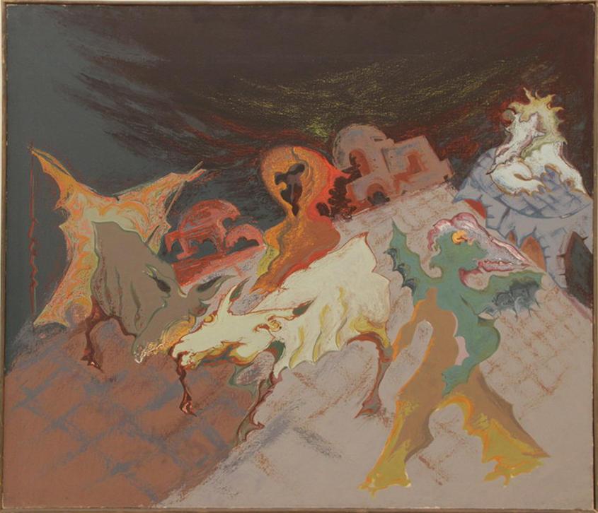 Зелимхан Саиджанов. Погонщик ослов. 1989