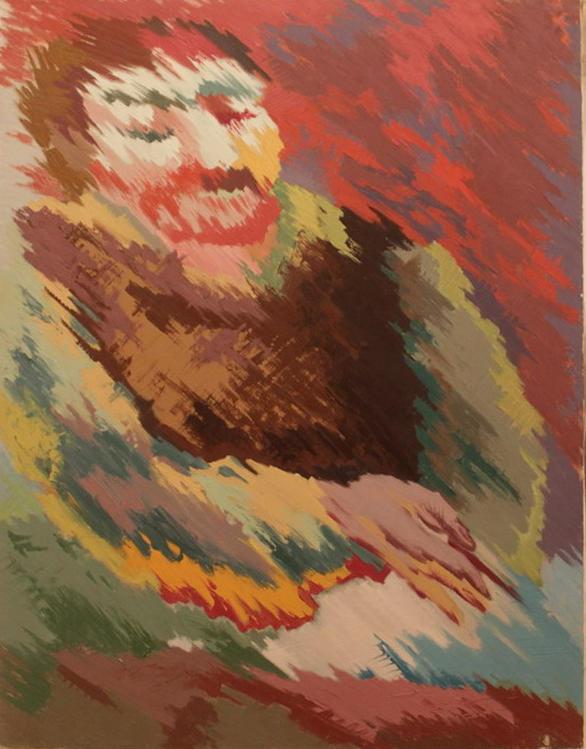 Зелимхан Саиджанов. Портрет художника Натанова А.. 1980