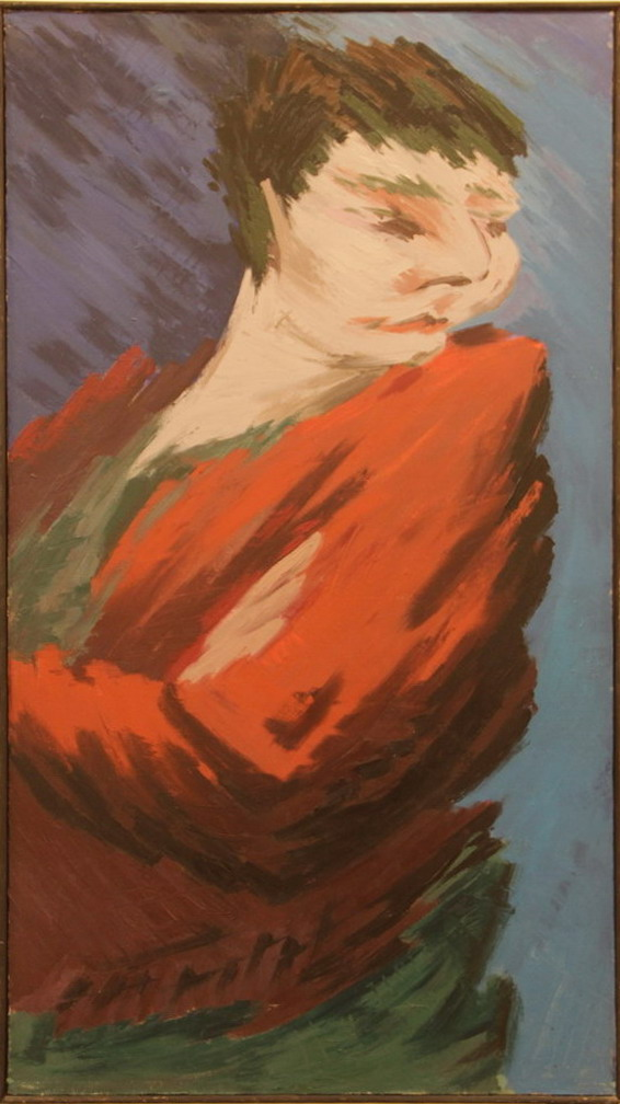 Зелимхан Саиджанов. Женский портрет. 1982