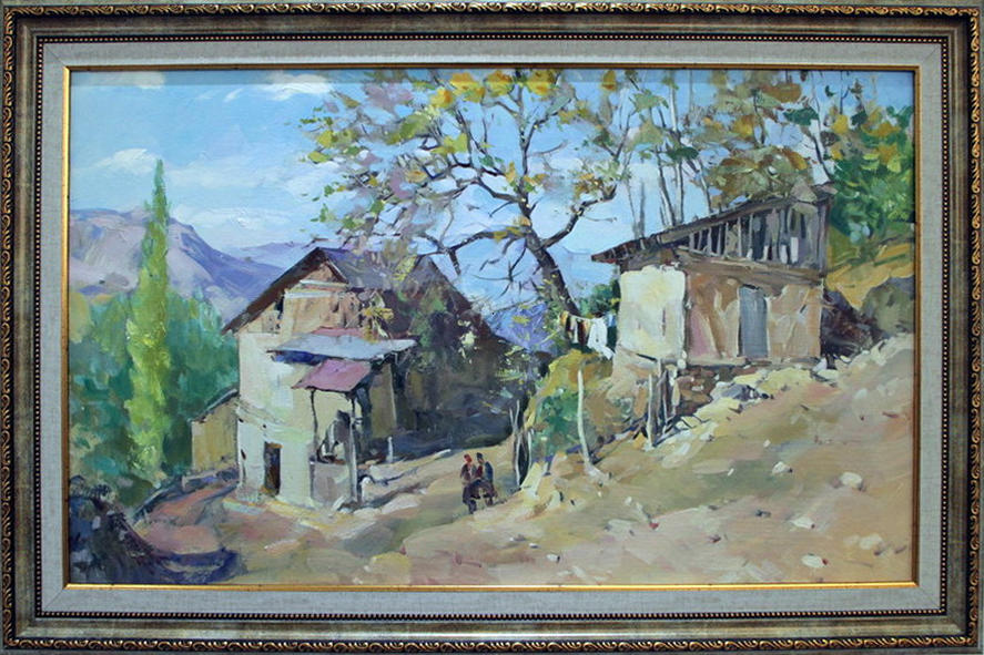 Эркин Джураев. Сарчашма (Источник). 2017