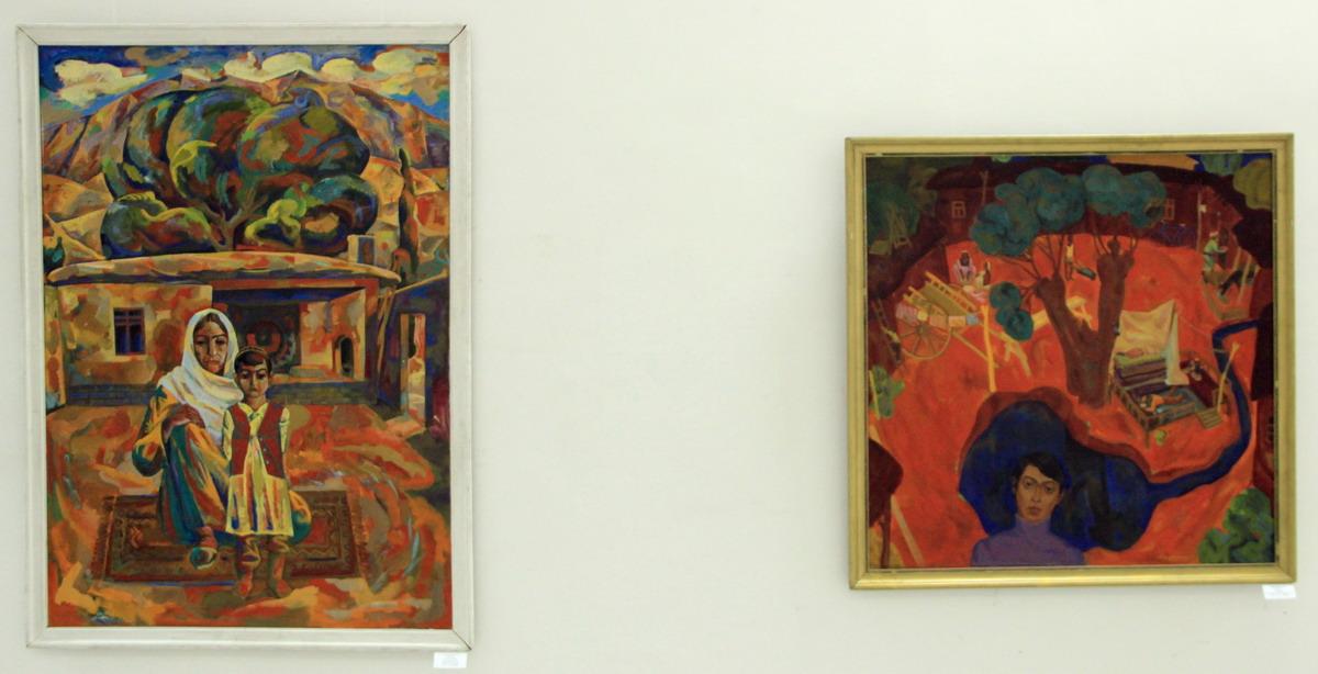 Абдурашидов Шухрат. Экспозиция картин.
