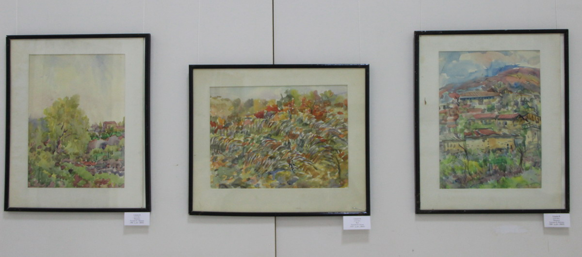 Борис Токмин. Экспозиция картин.