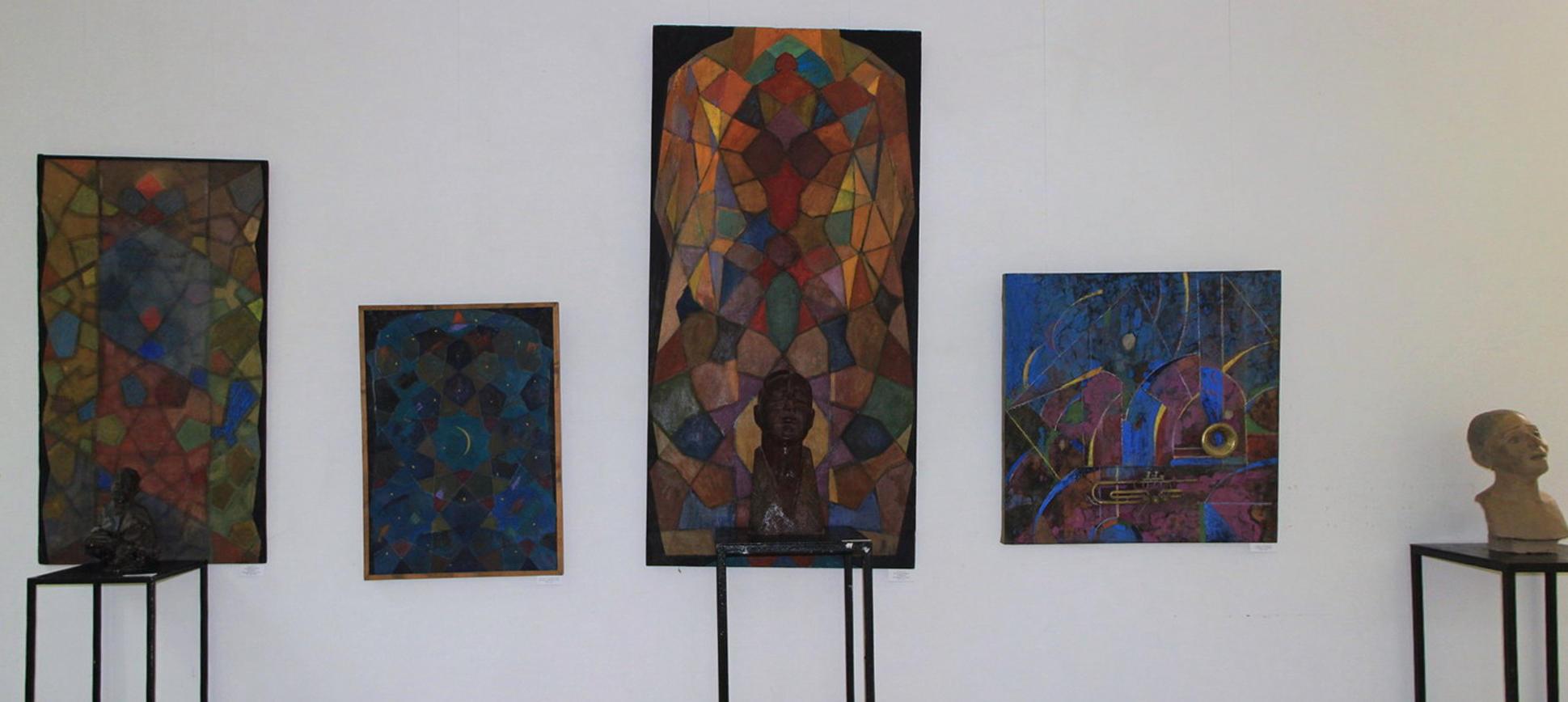 Дамир Рузыбаев. Экспозиция работ.